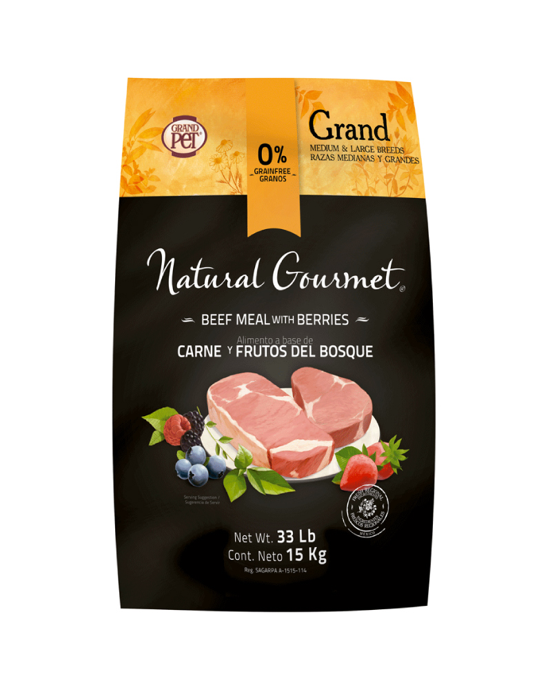 Natural Gourmet Grand Razas Medianas y Grandes