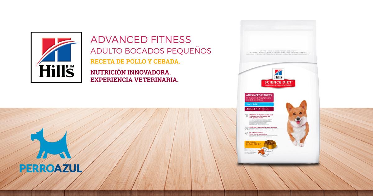 Hills Science Diet Advanced Fitness Bocados Pequeños Receta de Pollo y Cebada