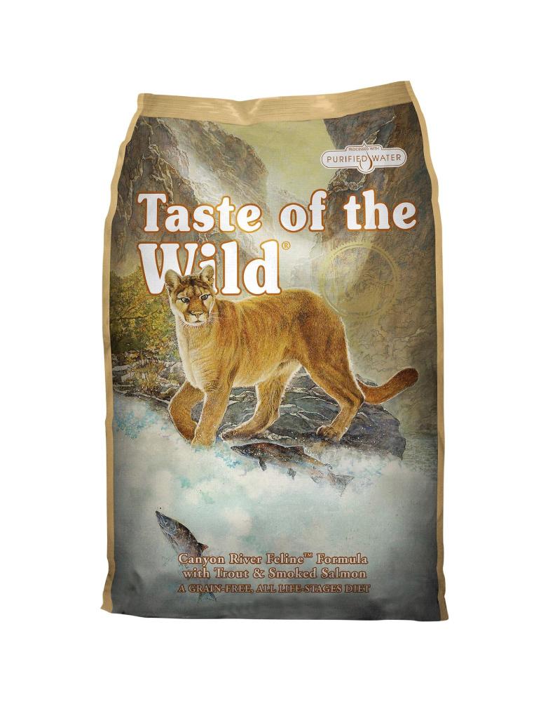 Taste of the Wild Canyon River Felino de Trucha y Salmón Ahumado para Adulto