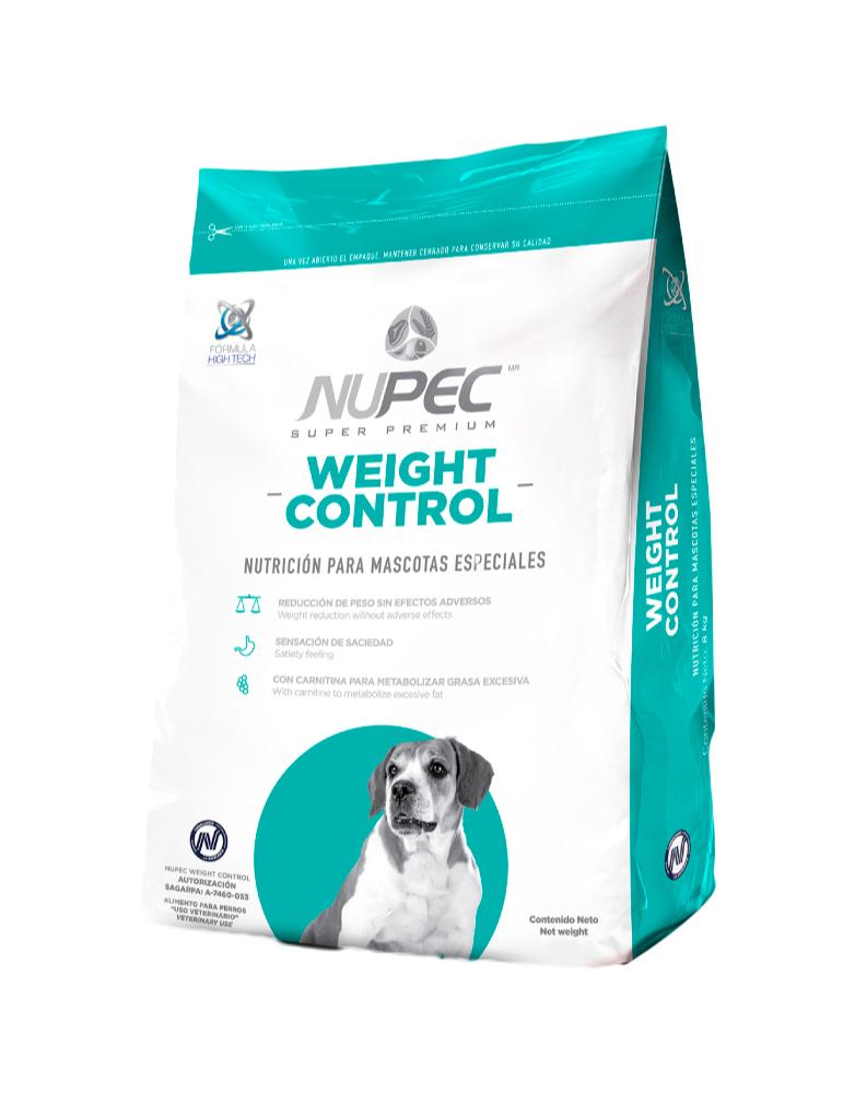 Nupec Weight Control, Control de Peso