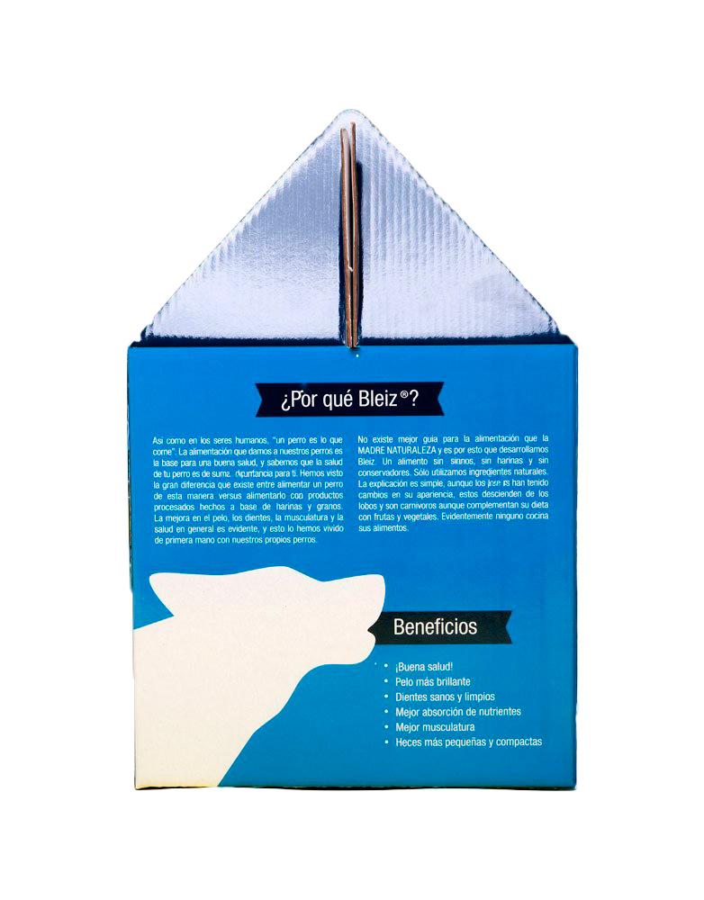 Bleiz Caja con 3.3kg