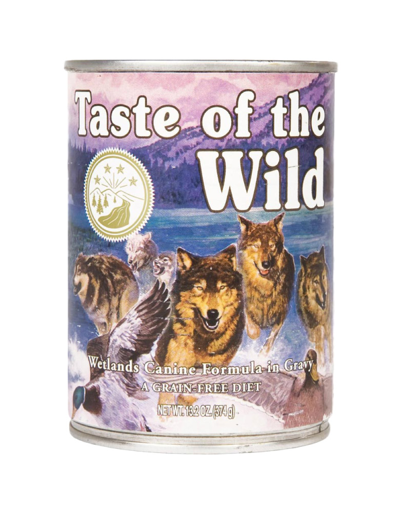 Alimento Húmedo en Lata Taste of the Wild Wetlands Canine